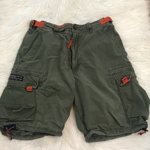 Abercrombie and Fitch Paratroops Cargo Shorts